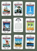 Collctable TRADE cards set Whitbread beer, Inn Signs 1974 set  Maritime